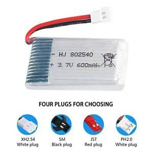 3.7V 600mAh 25C Lipo Battery for WLtoys V931 SYMA X5C Quadcopter Drone