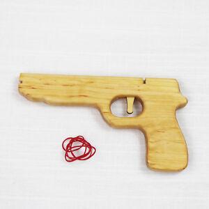 Holz Pistole Magnum | Kinder Spielzeug Holz Pistole Handarbeit