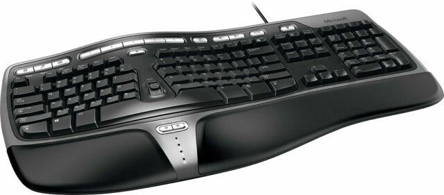 Microsoft Natural 4000 Wired Keyboard B2M-00012 USED☝