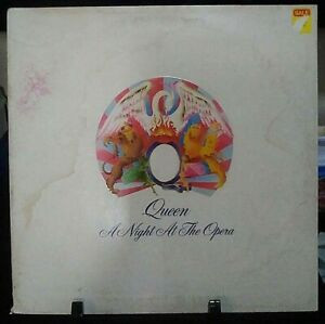 QUEEN A Night At The Opera GateFold Album Released 1975 Vinyl Collection USA
