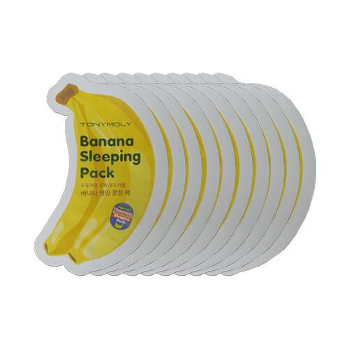 [TONYMOLY] Banana Sleeping Pack Samples - 10pcs