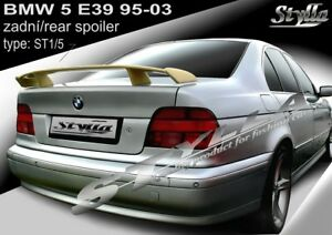 dcca0a62af13 Image is loading SPOILER-REAR-BOOT-TRUNK-TAILGATE-BMW-E39-WING-