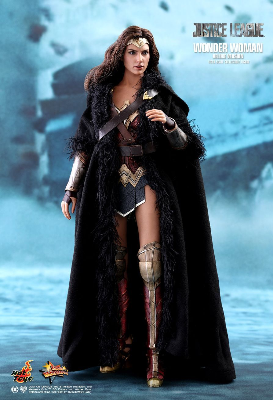 Hot Toys - Wonder Woman Woman Woman Justice league - Deluxe version MMS451 (Brand new UK) dee366