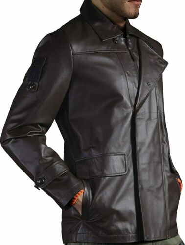 US Large Musterbrand BROWN World of Tanks The Front Nappa Leather Jacket