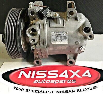 GENUINE NISSAN X-TRAIL T30 2.5L A//C PUMP P//N 92600 AU010 SUITS 2000-2007