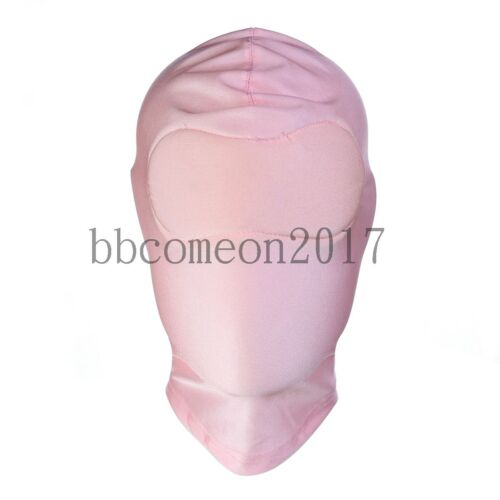 2018  New Role Play Costume Full head Face cover Headgear Mask Hood Blindfold