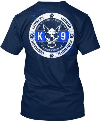 Trendsetting K-9 Police Dog Law Enforcement Loyalty Standard Unisex T-Shirt