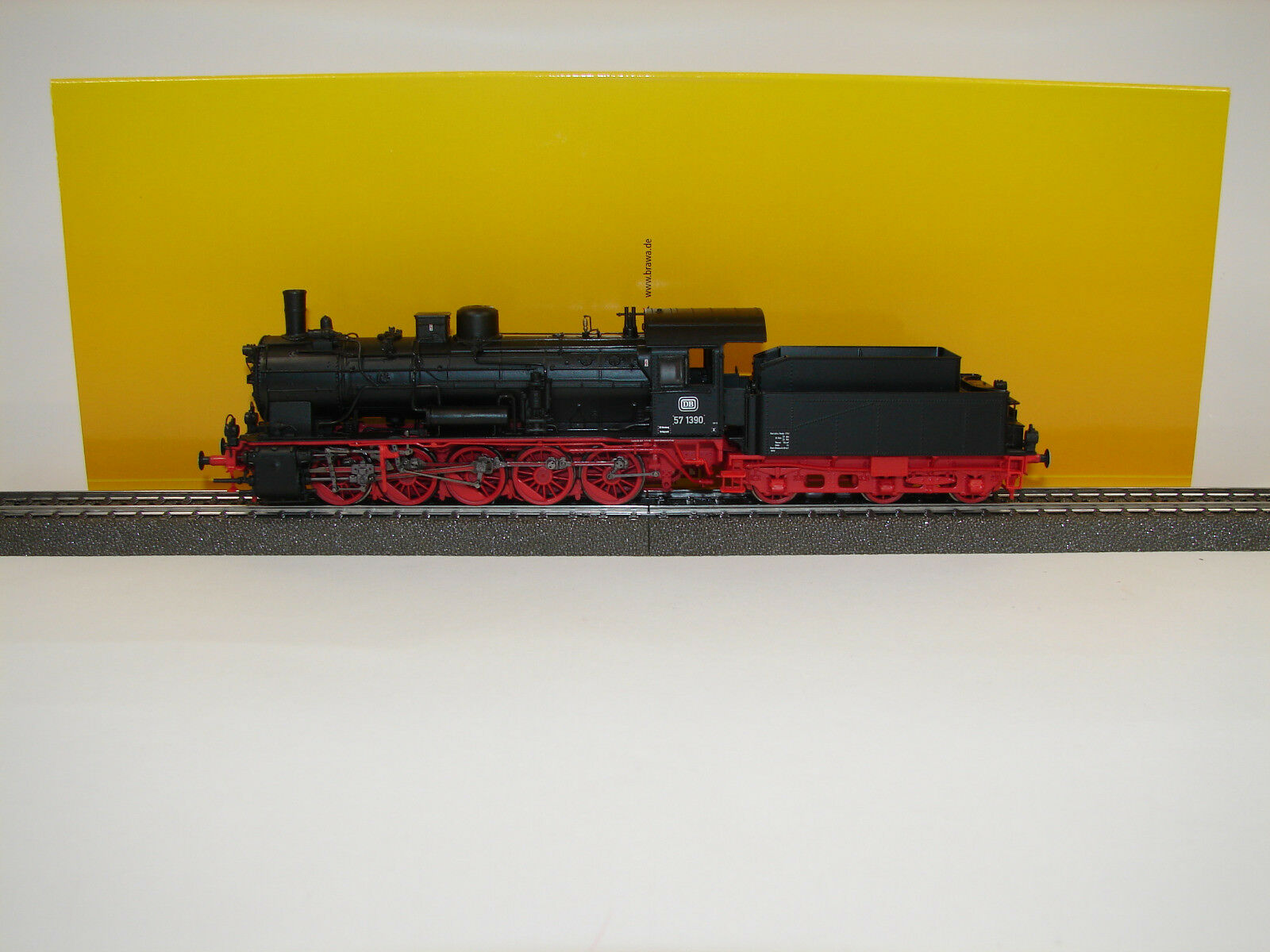 BRAWA 40844-Locomotiva BR 57.10 DB, DC Basic +, ep. III Merce Nuova