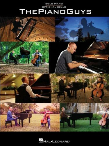 The Piano Guys Sheet Music Solo Piano with Optional Cello Book NEW 000119441