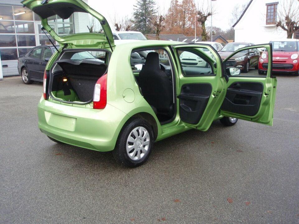 Skoda Citigo 1,0 60 Active GreenTec Benzin modelår 2016 km