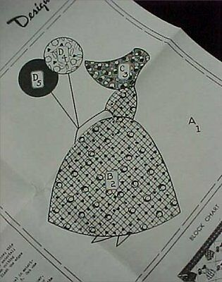 Vintage Little Girl with Balloons Applique Cutter Quilt Set in Lavender Hand Quilting