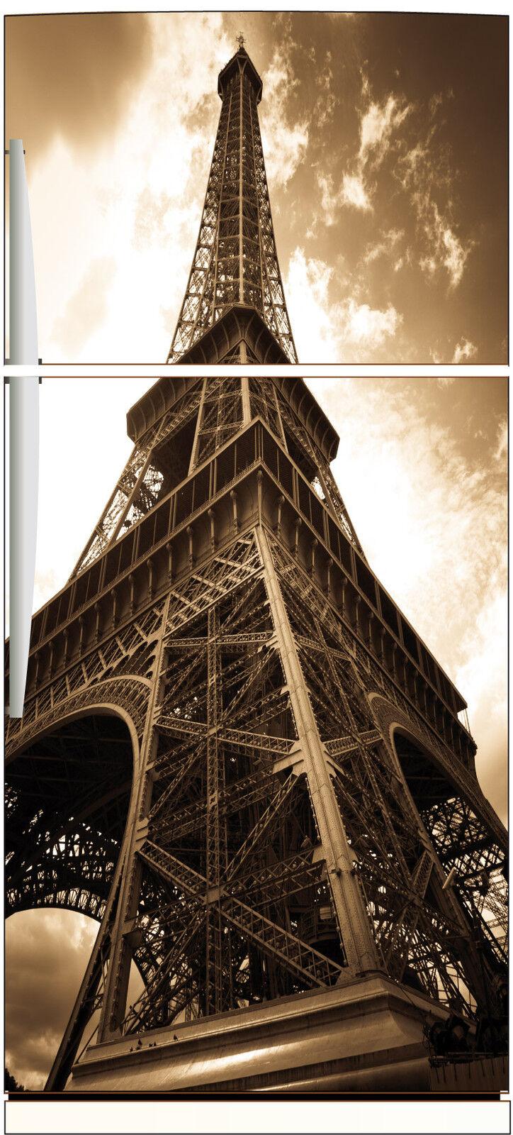 Aufkleber Kühlschrank Eiffelturm 70x170cm Ref 522