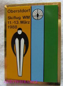 SK1858 - INSIGNE BADGE SKI  OBERSTDORF SKIFLUG WM 11-13 MÄRZ 1988