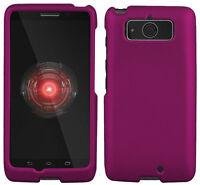 Purple Rubberized Hard Shell Case Protex Cover For Motorola Droid Mini Xt1030 on sale
