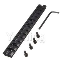 Tactical Picatinny Weaver Rail Scope Mount 13 Slots For Shotgun Mossberg 500.590