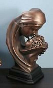 Young-039-s-Inc-034-BRONZED-MOTHER-KISSING-BABY-034-Statue-Darling