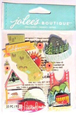 JOLEE/'S BOUTIQUE Autocollants-California-Golden Gate Bridge-Bear