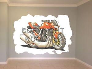 Huge-Koolart-Cartoon-Kawasaki-Z1000-Wall-Sticker-Poster-Mural-1708