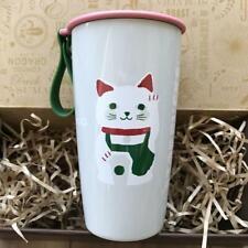 Starbucks Japan Limited 2020 lucky bag Stainless steel tumbler clip picnic sheet