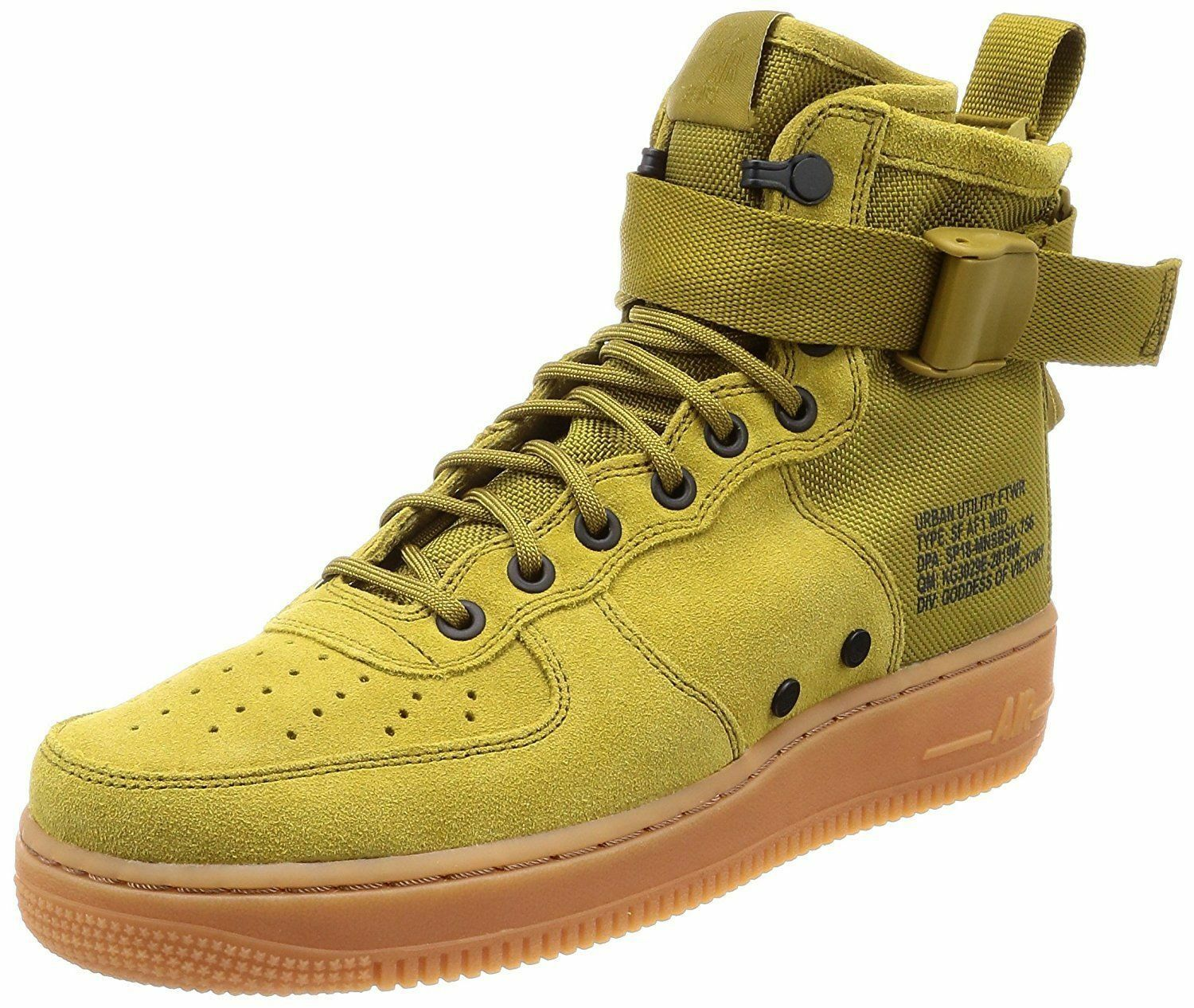 Nike Hommes SF AF1 Mid Casual Chaussures Special Field Green beige 917753-301 SZ 12