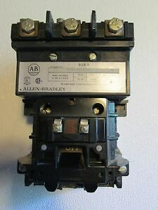 Allen Bradley Electric Starter Size 3 90amp 50HP Continuous-600VAC
