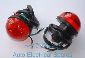 L760-Lucas-type-rear-brake-tail-lamp-light-unit-x-2-RED-for-LAND-ROVER