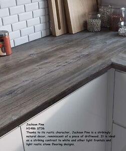 Jackson Pine Dark Wood Effectby Egger Laminate Kitchen