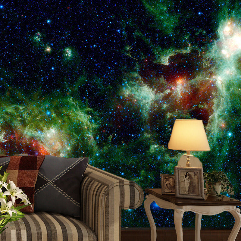 3D Star Sky Nebula 9009 Wall Paper Wall Print Decal Wall Deco Wall Indoor Murals