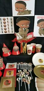 Details About African American Boss Baby Gucci Birthday Party Pack