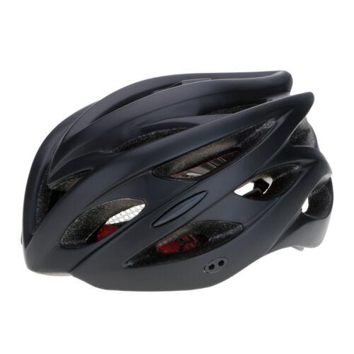 Adult Bike Bicycle HELMET VISOR /& LED LIGHT Cycle//Road MTB Bike