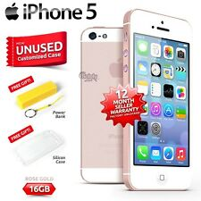 New in Sealed Box Factory Unlocked APPLE iPhone 5 Rose Gold 16GB 4G Smartphone