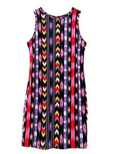 us10 Aztec Bodycon Uk14 Dress Short eur42 Topshop Size 1THFHp