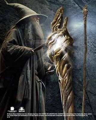 Gandalf Illuminating Staff Full Size Prop Replica by The Noble Collection