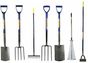 Image Is Loading BORDER DIGGING GARDEN SPADE SHOVEL FORK DUTCH HOE