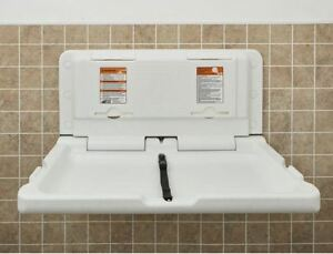 Commercial Changing Table Station Baby Wall Mount Diaper Change - Commercial bathroom baby changing table