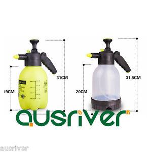 1.5L 2L Portable Garden Spraying Watering Pressure Sprayer Pump Water Spray New