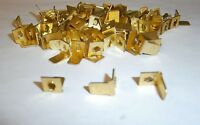 Keystone 1256 Brass Terminals Pc Disconnect Tab Lot Of 50 557