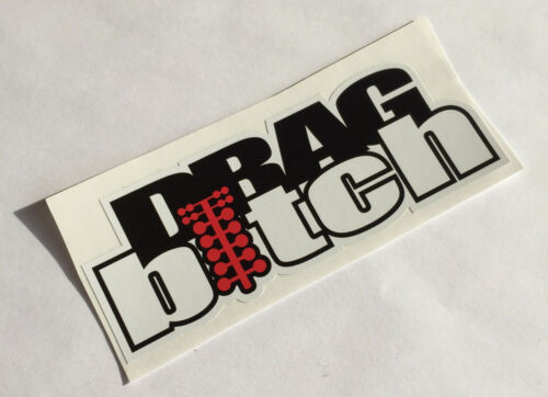 Drag Bitch des Autocollants Tuning Sticker Décalque Dapper Autocollant Voiture Fun JDM