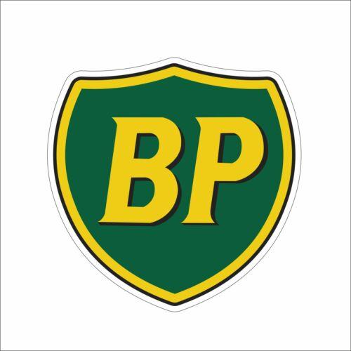 BP Gasoline Motor Hard Vinyl Hat Sticker Decal Funny Danger Motorcycle Car Decor