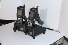 Two Psion Teklogix Workabout Pro With Wa9003 G1 Pistor Amp Wa4403 G2 Docking