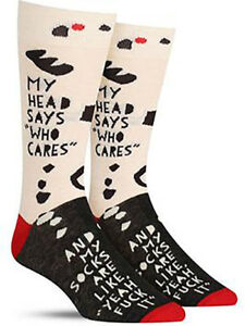 Mr Fix It Blue Q Cotton Novelty Father/'s Day Gift Men/'s Crew Socks