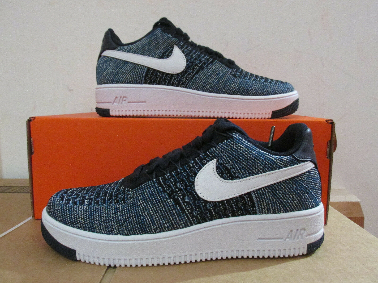 Nike Af1 Ultra Flyknit Low Mens Running Trainers 817419 400 Sneakers CLEARANCE
