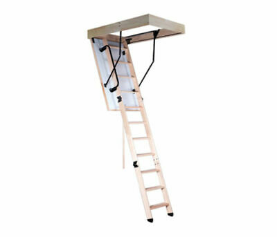 Bodentreppe Speichertreppe Dachbodentreppe Treppe Holz COMPACT TERMO NEU**