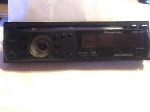 Details about Pioneer DEH 1200MP Faceplate Missing Volume ! Tested on