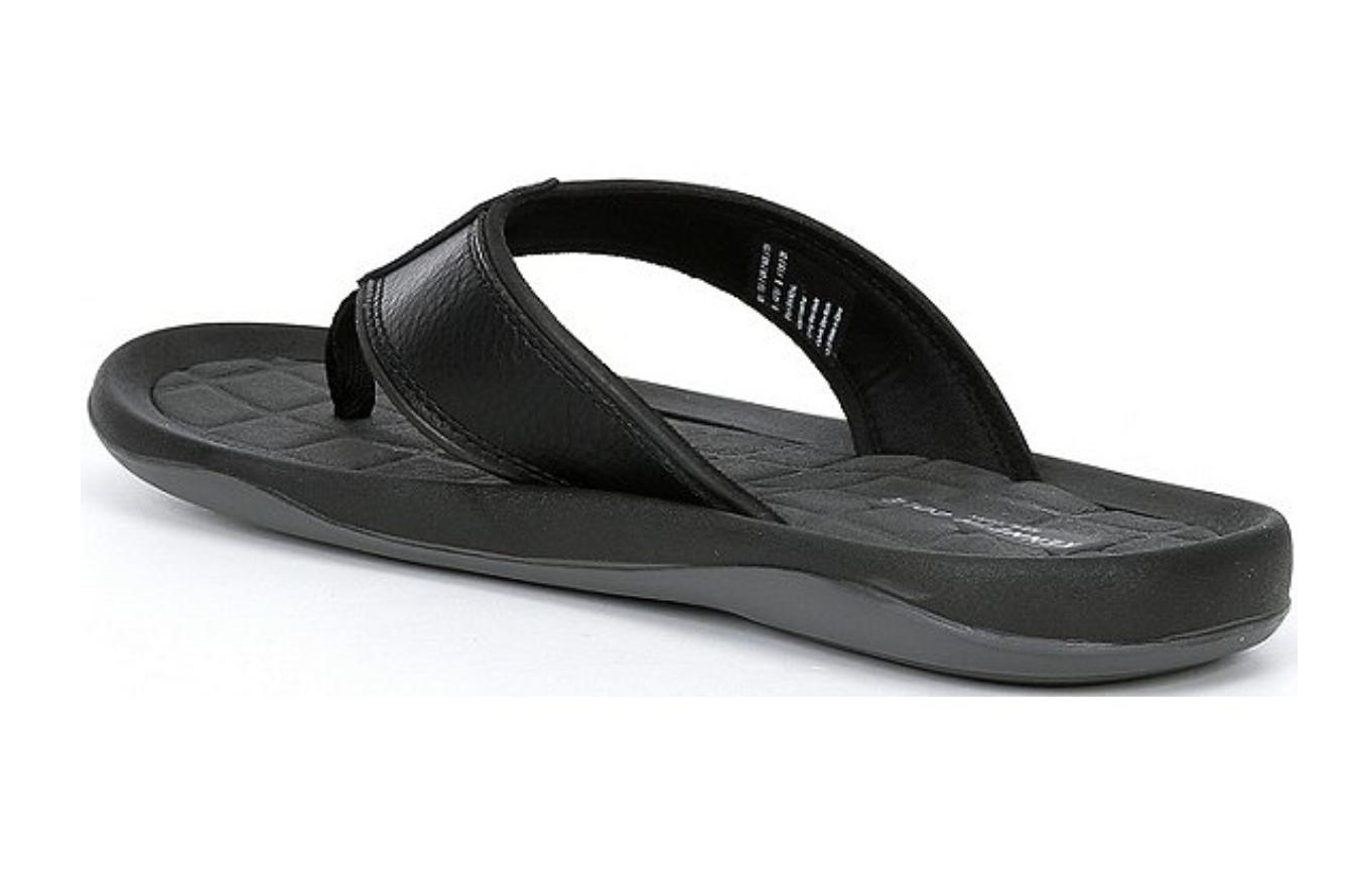 Kenneth Cole New York Men's Size11 Black FLORIAN Sandals Flip Flops NWTGs