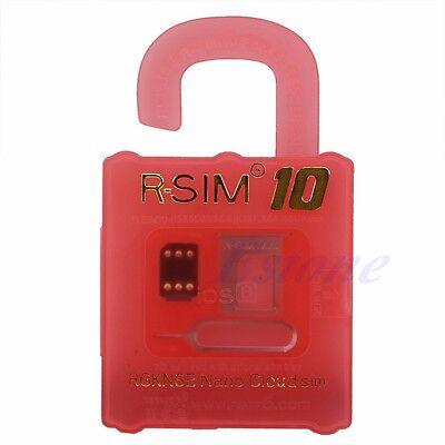 R-SIM 10 RSIM Nano Cloud Card For Fit iPhone 4S 5 5S 5C 6 Plus 3G 4G LTE iOS 8.x