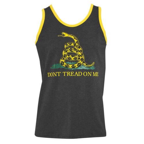 Don/'t Tread On Me Tank Top Grey