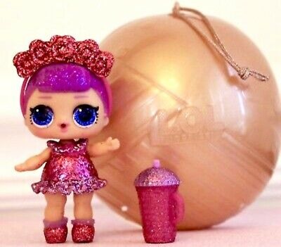 LOL Surprise Holiday Bling Series Sugar Queen Doll Rare New Opened no ball