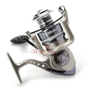 YOSHIKAWA-Spinning-Fishing-Reel-11BB-Saltwater-Striper-Tarpon-6000-Long-Casting