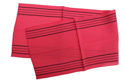 La Corée Italie Exfoliant Corps gommage serviette Long Vert Rouge Jaune débarbouillettes